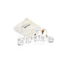 Achat en ligne Set 6 glaçons cristal avec pochette de transport 2,5cm