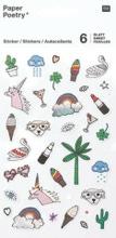 Achat en ligne Stickers agenda magical summer  arc en ciel