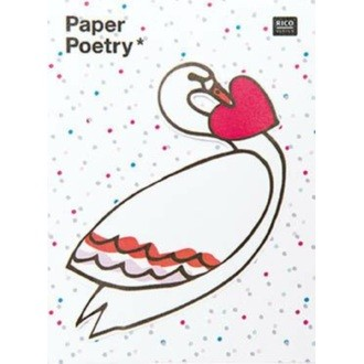 Rico Design - Sticky notes magical cygne 50 feuilles