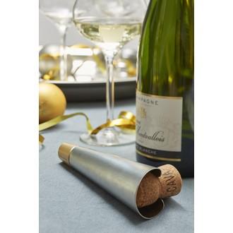 CHEF&SOMMELIER - Tire-bouchon champagne Acier inox +ABS