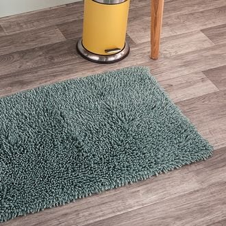 Maom - tapis de bain twisté sauge 50x80cm
