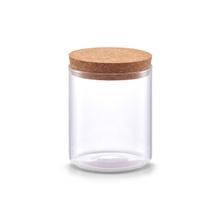 Achat en ligne Pot de conservation en verre avec couvercle en liège 650 ml