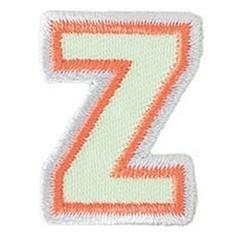Achat en ligne Ecusson lettre Z thermocollant