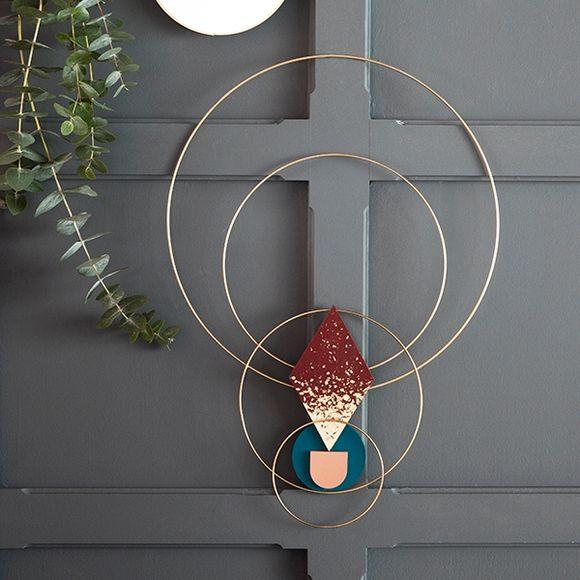 Cercle nu or 25cm