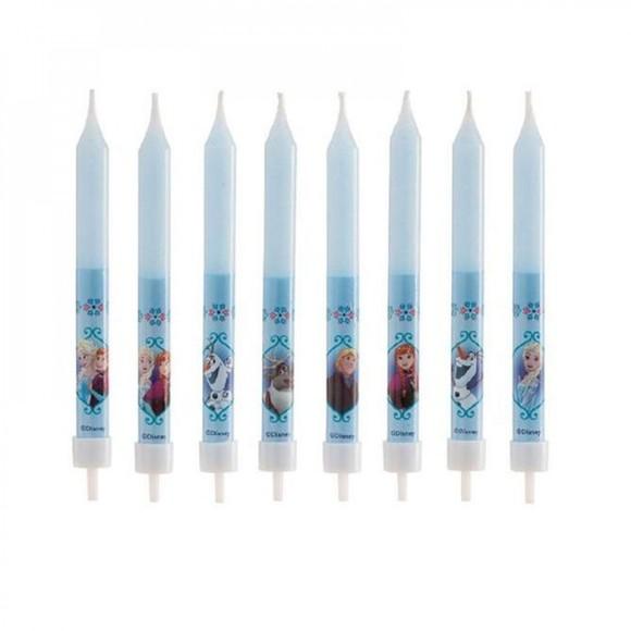 Bougies reine des neiges x8
