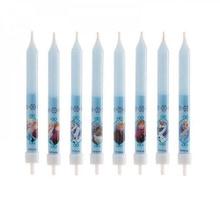 Achat en ligne Bougies reine des neiges x8