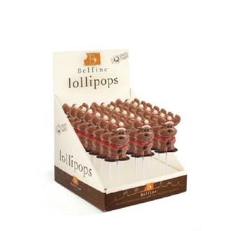 """Sucette chocolat elan de noel """"ralf"""" 35g"""