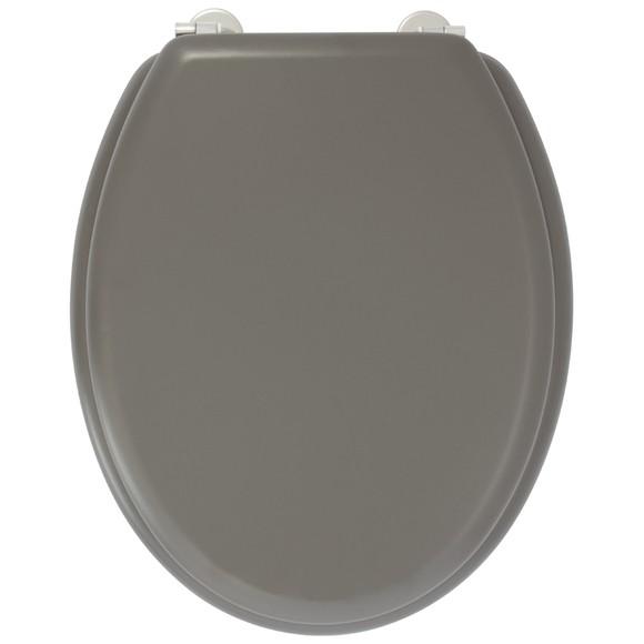 Achat en ligne Abattant de toilette en bois moulé gris carbone Dolce