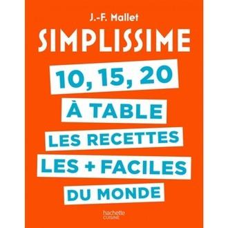 livre 10 15 20 à Table Simplissime