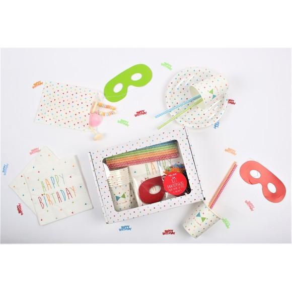 Achat en ligne Coffret My birthday box garcon pour 8 enfants