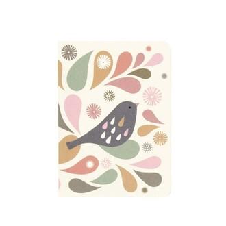 ATOMIC SODA- Lot de 2 carnets Tableau Oiseau Minilabo 64 pages 9x12cm