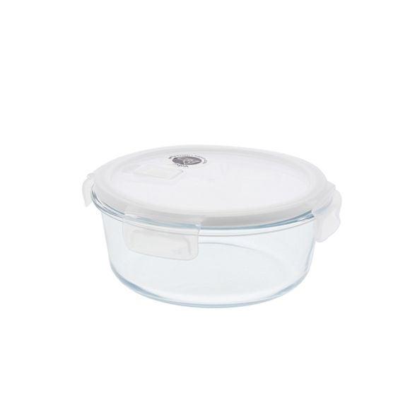 compra en línea Tupper de cristal Pebbly redondo para conservar N2J (950 ml)