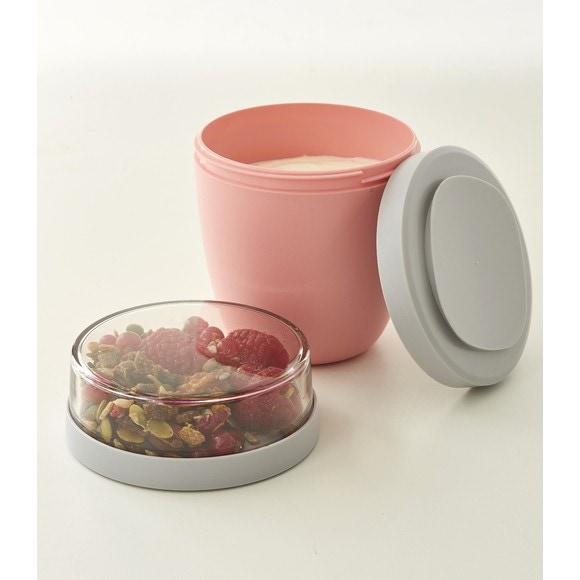 Porta pranzo rosa 0,7L