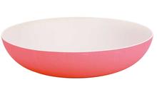 Achat en ligne Saladier bambou 32x7,3cm rose et taupe