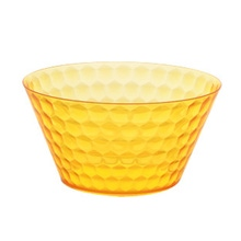 Achat en ligne Saladier acrylique 22,6x11,5 cm orange