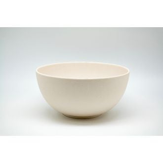 Saladier bambou 20x9,7 cm blanc