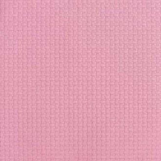 15 serviettes 33x33 cm linen gaufré rose
