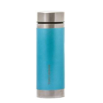 Mug thé infuseur bleu metallisé 350 ml