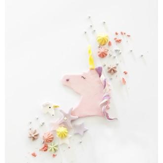 Découpoir licorne rose