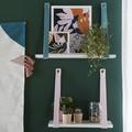 Tablette bois paulownia blanc 50x19cm ep18mm