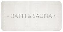 Achat en ligne Tapis de bain antidérapant blanc Bath & Sauna 35x70cm