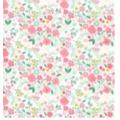 20 Serviettes fleurettes eclatantes 33x33 cm