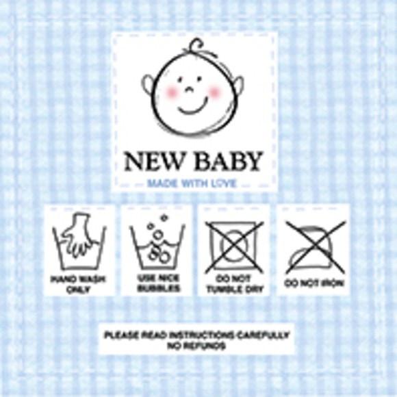 20 Serviettes New baby blue 33x33 cm