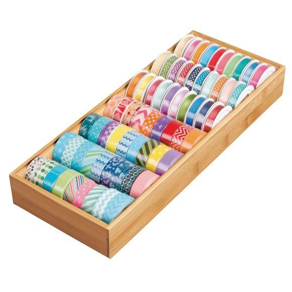 acquista online Porta utensili in bambù per cassetti 30,8x15,2x5,1cm
