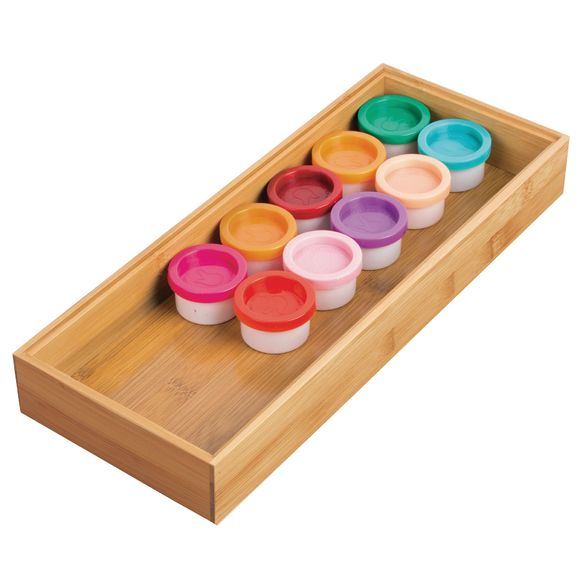 Organiseur tiroir en bambou 30,8x15,2x5,1 cm