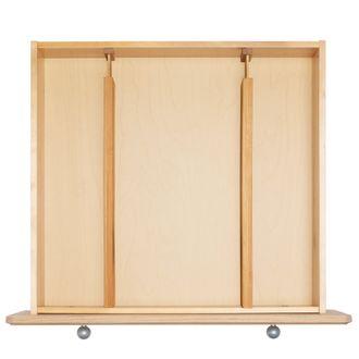 INTERDESIGN - Set de 2 séparateur de tiroir extensibles en bambou 57,6x6,5x3,9 cm