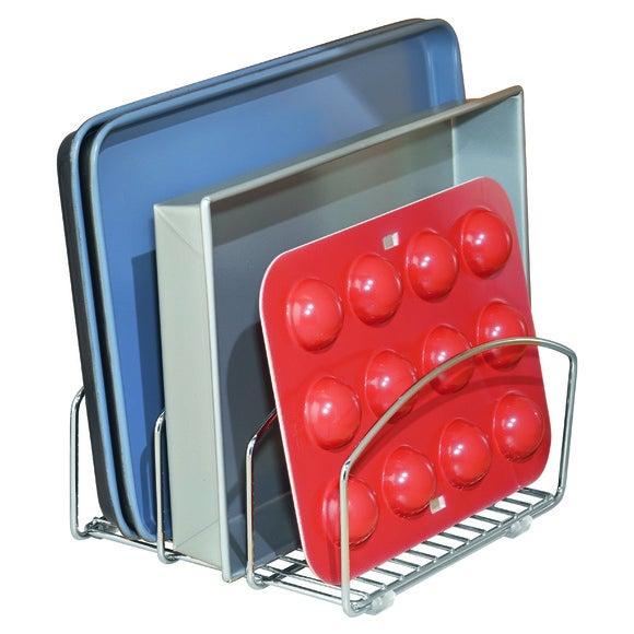 Achat en ligne Support pour planches à découper chromé 21,3x25,2x14,1 cm