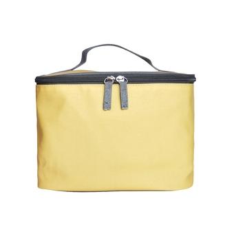 ZODIO - Trousse de toilette en coton enduit jaune - L'intemporel voyageur - 24x18x18cm