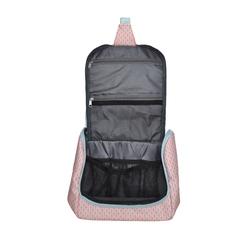 acquista online Trousse in cotone rivestito corallo 22x11x20cm