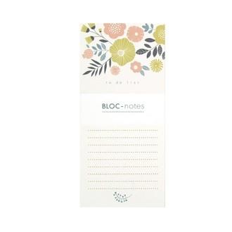 To do list bouquet 60 pages imprimées minilabo 9.5x20.5cm