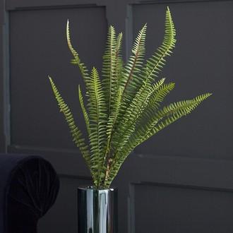 Tige artificielle fougère arborescente bouquet 60cm