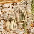 Lanterne bambou naturel h 30 d25