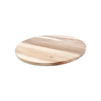 Plateau tournant en bois 38,5cm