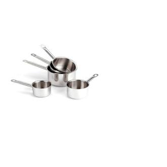 Lot 5 casseroles Inox Pro 12 à 20 cm
