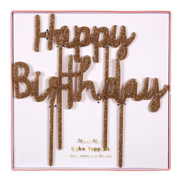 Set decorazione Happy Birthday
