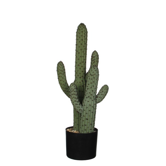 cactus artificiel en pot h60cm pas cher z dio. Black Bedroom Furniture Sets. Home Design Ideas