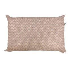 compra en línea Cojín estampadocola pavo real rosa punta dorada (40 x 60 cm)