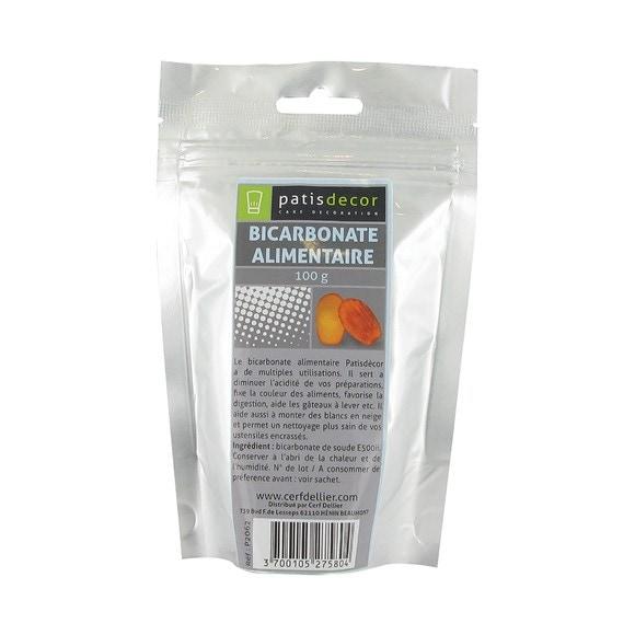 Bicarbonate de soude sachet de 100g