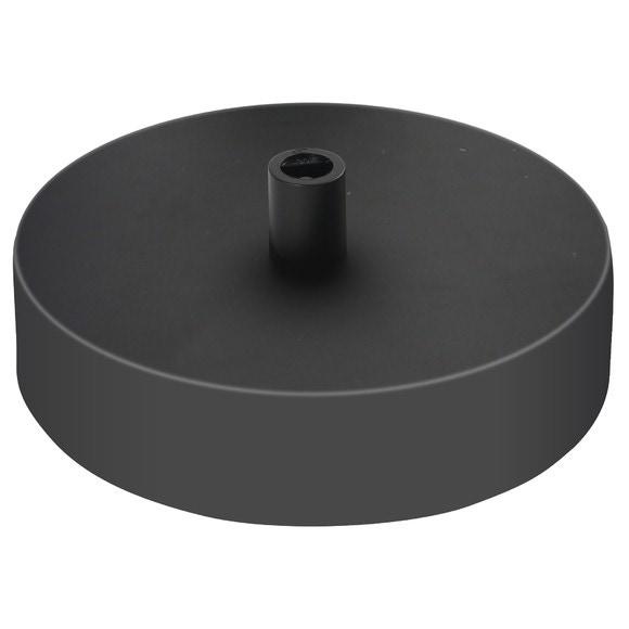 Achat en ligne Plafonnier 1 sortie acier noir 10cm