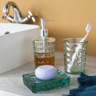 Gobelet en verre transparent gems