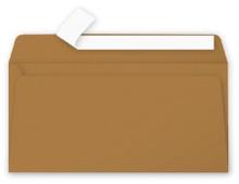 Achat en ligne 20 Enveloppes Kraft 110x220 Pollen Auto-adhésives 135g