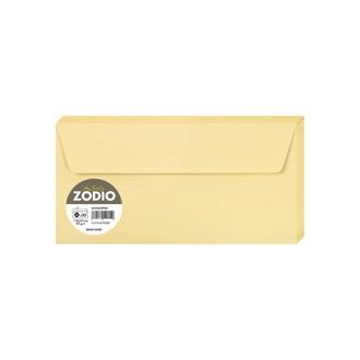 CLAIREFONTAINE - 20 Enveloppes Brume dorée 110x220 Auto-adhésives