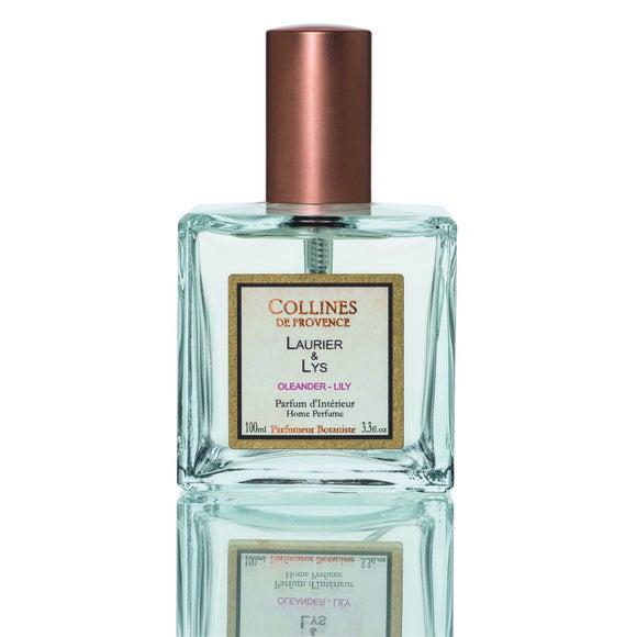 Parfum d'interieur lys-laurier rose