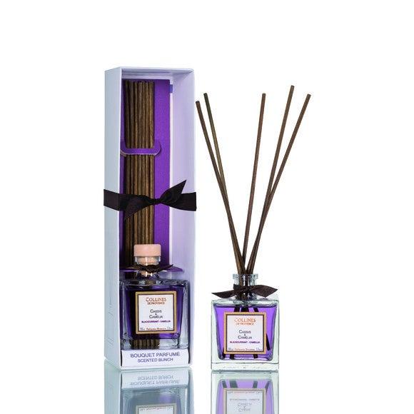 Achat en ligne Bouquet parfumé cassis-camélia 100ml