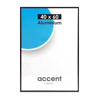 Cadre photo 40x60 accent noir mat