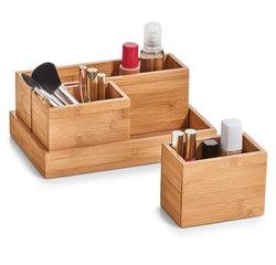 Achat en ligne Set de 4 organiseurs de tiroir en bambou
